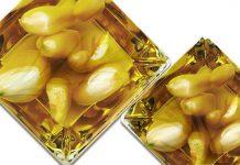 Huile d'olive aromatisée à l'ail et au romarin