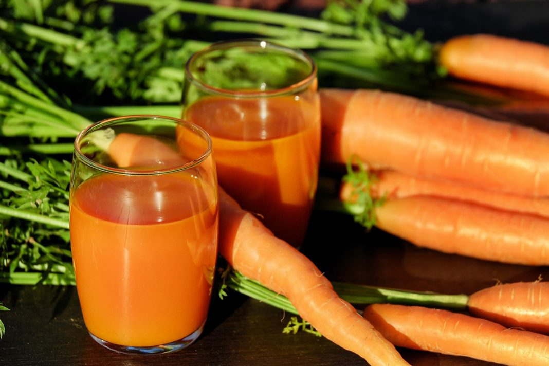 10 bienfaits du jus de carotte !