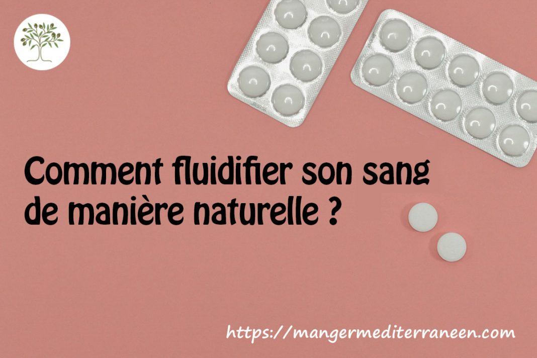 Alternatives à l'aspirine pour fluidifier le sang !