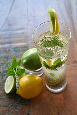 Chia Dans la limonade