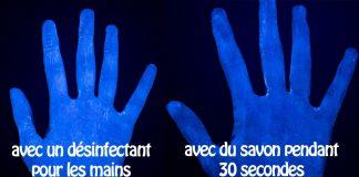 Coronavirus : Le désinfectant pour les mains n'est pas aussi efficace que le savon !